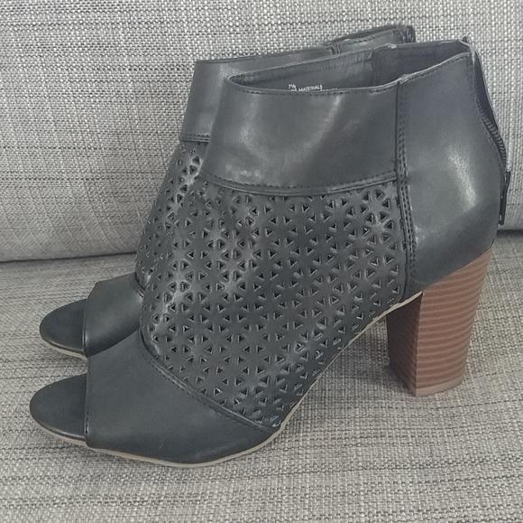 Mossimo Supply Co. Shoes - Black Open Toe Heels